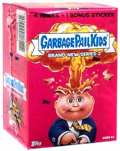 Garbage Pail Kids 2013 Brand New Series 2 Value Box [4 Packs & 1 Bonus Sticker]