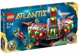 LEGO Atlantis Set #8077 Atlantis Exploration HQ