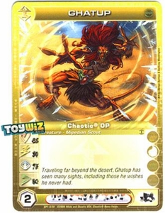 Chaotic Trading Card Game OP Organized Play Promo Single Card Uncommon #OP1-9 Ghatup