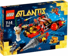 LEGO Atlantis Set #7984 Deep Sea Raider