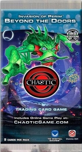 Chaotic Card Game Series 4 M'arrillian Invasion: Beyond the Doors Booster Pack