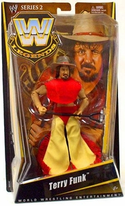 Mattel WWE Wrestling Legends Series 2 Action Figure Terry Funk BLOWOUT SALE!