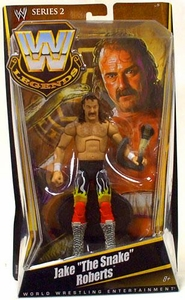 Mattel WWE Wrestling Legends Series 2 Action Figure Jake