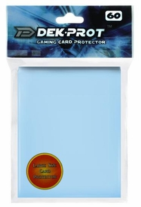Dek Prot Card Supplies Standard Card Sleeves Aqua Blue [60 Count]