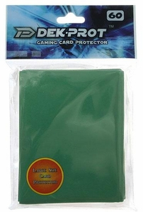 Dek Prot Card Supplies Standard Card Sleeves Ivy Green [60 Count]