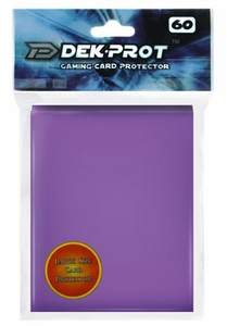Dek Prot Card Supplies Standard Card Sleeves Lavender Purple [60 Count]