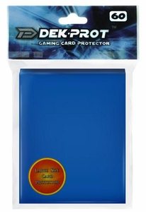 Dek Prot Card Supplies Standard Card Sleeves Ocean Blue [60 Count]