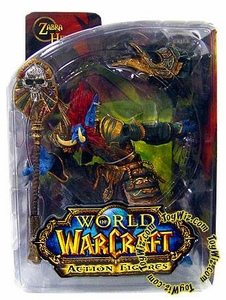 World of Warcraft DC Unlimited Series 2 Action Figure Troll Priest [Zabra Hexx]