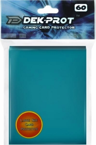 Dek Prot Card Supplies Standard Card Sleeves Teal Green [60 Count]
