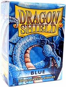Dragon Shield Card Supplies Standard Card Sleeves Blue [100 Count]