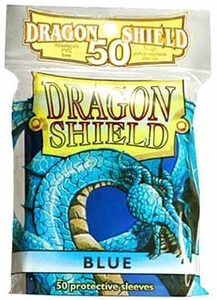 Dragon Shield Card Supplies Standard Card Sleeves Blue [50 Count]