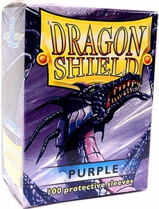Dragon Shield Card Supplies Standard Card Sleeves Purple [100 Count]