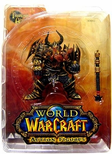 World of Warcraft DC Unlimited Series 1 Action Figure Dwarf Warrior [Thargas Anvilmar]