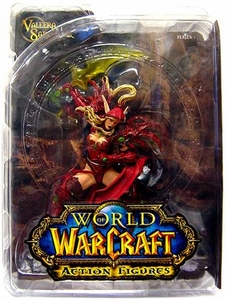World of Warcraft DC Unlimited Series 1 Action Figure Blood Elf Rogue [Valeera Sanguinar]