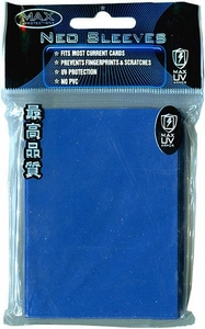 Max Protection Card Supplies Standard Card Sleeves Flat Reflex Blue [50 Count]