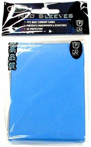 Max Protection Card Supplies Standard Card Sleeves Flat Sky Blue [50 Count]