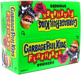 Topps Garbage Pail Kids Flashback Series 1 Trading Card Stickers Box [24 Packs]