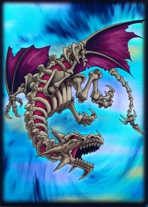 Max Protection Card Supplies Standard Card Sleeves Skeleton Dragon  [50 Count]
