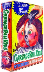 Topps Garbage Pail Kids Trading Card Gross Stickers Box