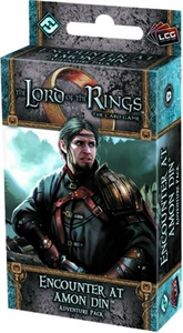 Lord of the Rings: Encounter At Amon Din LCG Living Card Game Adventure Pack