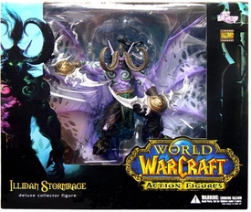 World of Warcraft DC Unlimited Series 1 Deluxe Boxed Action Figure Illidan Stormrage