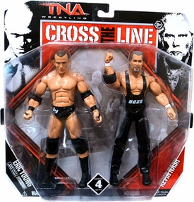 TNA Wrestling Cross the Line Series 4 Action Figure 2-Pack Eric Young & Kevin Nash