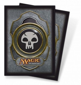 Ultra Pro Magic the Gathering Card Supplies Standard Card Sleeves Series 3 Black Mana