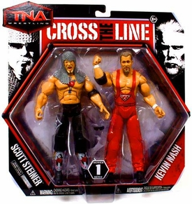 TNA Wrestling Cross the Line Series 1 Action Figure 2-Pack Scott Steiner & Kevin Nash