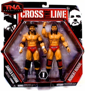 TNA Wrestling Cross the Line Series 1 Action Figure 2-Pack James Storm & Robert Roode
