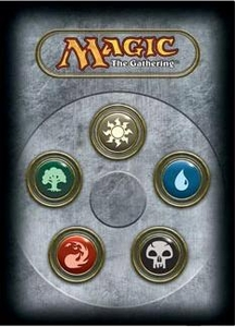 Ultra Pro Magic the Gathering Card Supplies Standard Card Sleeves Series 3 Five Mana Symbols