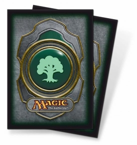 Ultra Pro Magic the Gathering Card Supplies Standard Card Sleeves Series 3 Green Mana