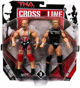 TNA Wrestling Cross the Line Series 3 Action Figure 2-Pack Kurt Angle & Mr. Anderson