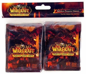 World of Warcraft Cataclysm WoW Card Supplies Card Sleeves Deathwing [80 Count]