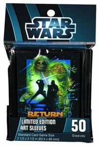 Star Wars Card Supplies Standard Limited Edition Card Sleeves Return of the Jedi [50 Count]