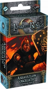 Lord Rings: Assault on Osgiliath LCG Living Card Game Adventure Pack