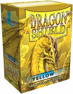 Dragon Shield Card Supplies Standard Card Sleeves Yellow [100 Count]
