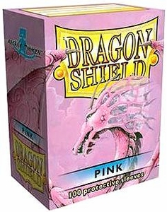 Dragon Shield Card Supplies Standard Card Sleeves Pink [100 Count]