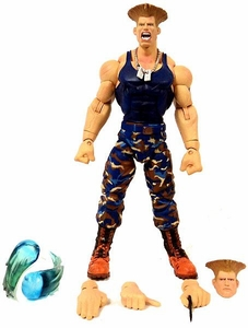 Sota Toys Street Fighter Series 3 Action Figure LOOSE Variant Guile (Blue)