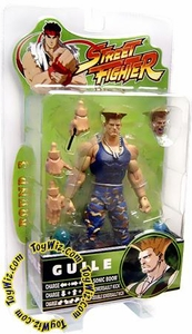 Sota Toys Street Fighter Series 3 Action Figures Variant Guile (Blue)