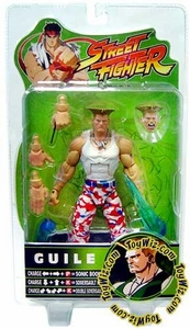 Sota Toys Street Fighter Series 3 Exclusive Action Figure Guile [USA]