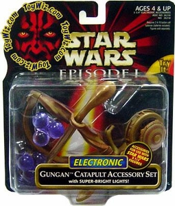 Star Wars Phantom Menace Deluxe Electronic Gungan Catapult Accessory Set