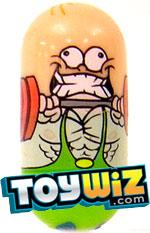 Mighty Beanz Single #91 Gym Bean