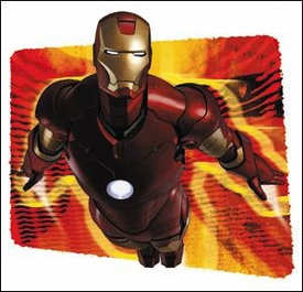 Iron Man Sticker Flare