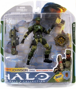 Halo 3 McFarlane Toys Series 5 [2009 Wave 2] Action Figure Sgt. Avery Johnson In Halo 3 ODST! COLLECTOR'S CHOICE!