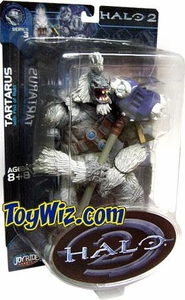 Halo 2 Action Figure Series 3 Brute Leader Tartarus [Gravity Hammer]