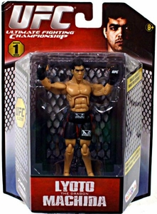 UFC Bring It On Build the Octagon Exclusive 3 3/4 Inch Series 1 Action Figure Lyoto Machida