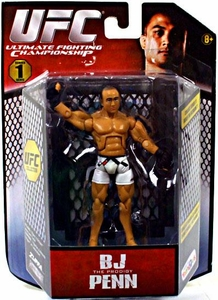 UFC Bring It On Build the Octagon Exclusive 3 3/4 Inch Series 1 Action Figure BJ Penn
