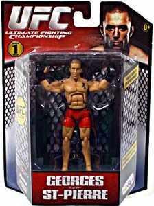 UFC Bring It On Build the Octagon Exclusive 3 3/4 Inch Series 1 Action Figure Georges St. Pierre