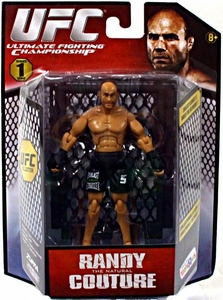 UFC Bring It On Build the Octagon Exclusive 3 3/4 Inch Series 1 Action Figure Randy Couture