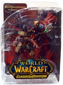 World of Warcraft DC Unlimited Series 8 Action Figure Snaggle 2-Pack Brink Spannercrank Vs. Kobold Miner [Gnome Rogue]